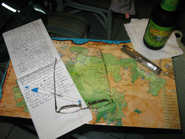 Map and Notes Picture